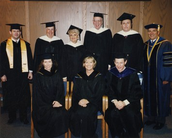 Commencement Group Portrait 1996