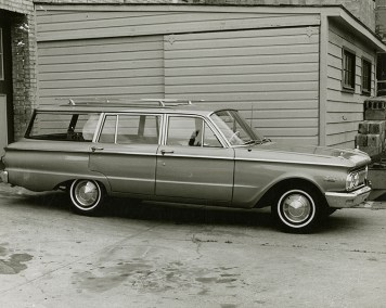 1961 Mercury Comet After Repairs