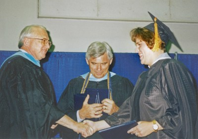 Commencement With Judd D. Morgan 2003