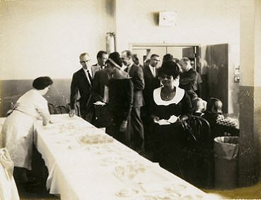 Refreshments At SLCC Commencement August of 1965