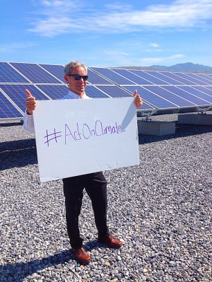 Mayor Ralph Becker supports #ActOnClimate