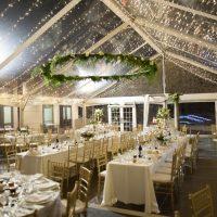 Utah Tent Wedding at Night