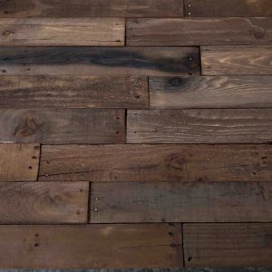 pallet wall aged chocolate brown wood wall accent wall 4