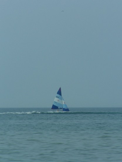 One of the cute sailboats we saw.
