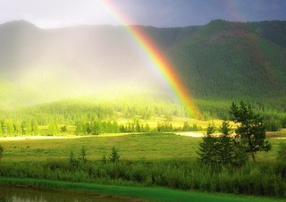 Дождик радуга