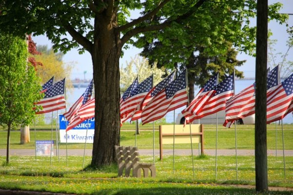 (c) Sleder's Family Tavern - Kiwanis American Flag Project