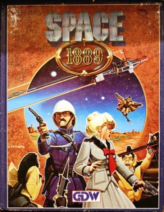 GDW Space 1889 RPG Cover