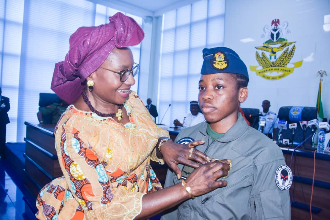 Nigeria's first female combat helicopter pilot dies at 23
