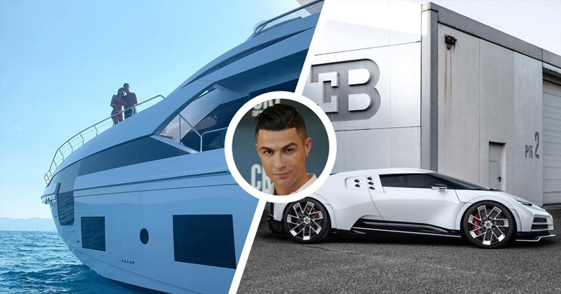 Ronaldo buys £5.5m yacht to celebrate Juventus' Serie A title win
