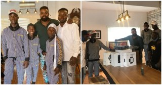 Ikorodu boys receive production gadgets worth millions from Netflix to upgrade their skills