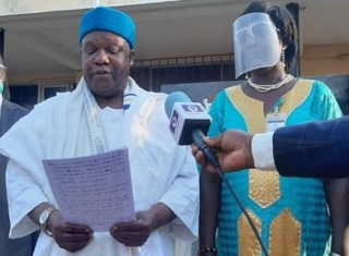 I want to die for Nigeria - CBN Deputy Governor, Mailafia says after release from DSS custody