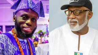 BREAKING: Governor Akeredolu's Son, Babajide, Tests Positive For COVID-19