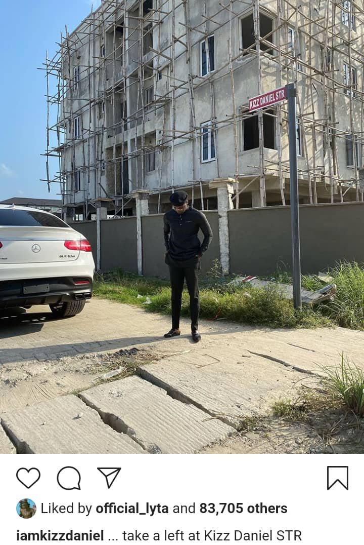 Kizz Daniel, Lekki, Mansion, Street,NAIJA GIST TODAY,NIGERIAN CELEBRITY GISTS ,LATEST NEWS,NIGERIAN MUSICIANS ,LATEST NEWS,NIGERIAN MUSIC INDUSTRY ,LATEST NEWS,MUSICIANS, News, breaking news, latest news, Nigeria news, naija news, trending news, bbc news, vanguard news today, davido