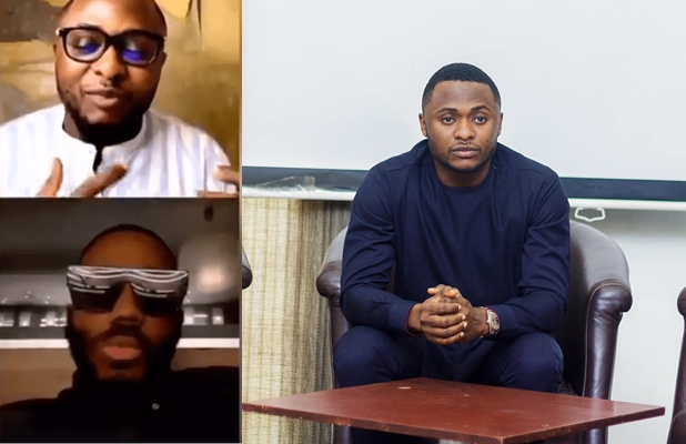 """Moment Kiddwaya """"embarrassed"""" Ubi Franklin during IG live for asking about Erica and Laycon (Video)"""