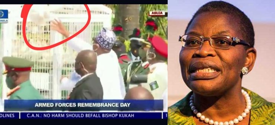 Drama At Eagle Square Abuja As Buhari Tried Releasing 'Birds of Honor' Into The Sky – Oby Reacts