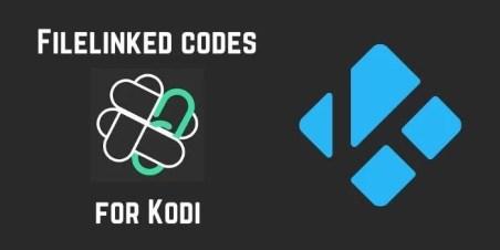 Filelinked codes for kodi
