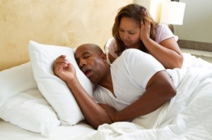 Snoring is a result of the narrowing of your air passages.