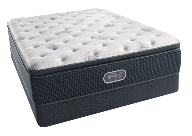 Simmons Beautyrest Silver Open Seas Luxury Firm Pillow Top Mattress