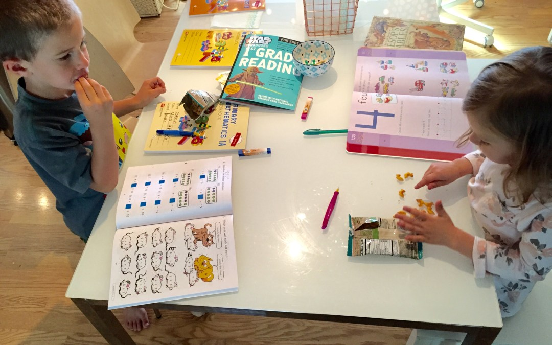 Homeschooling Day 2: Saving the Day After a Rough Start