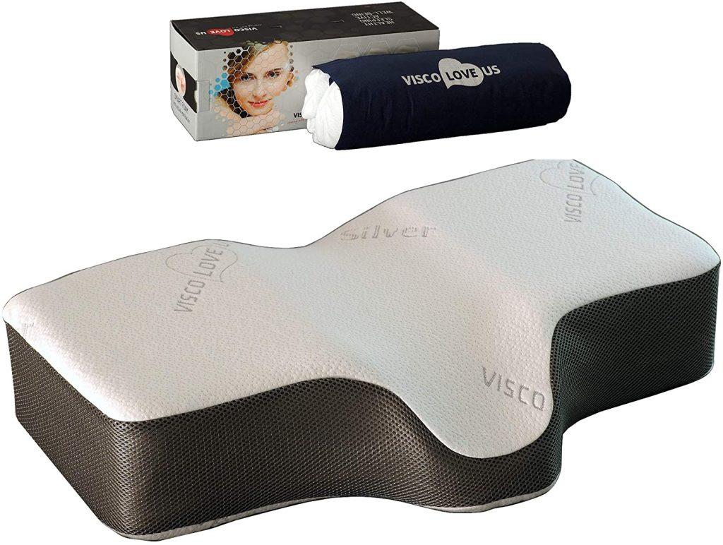 Silver Sleep Therapeutic Memory Pillow