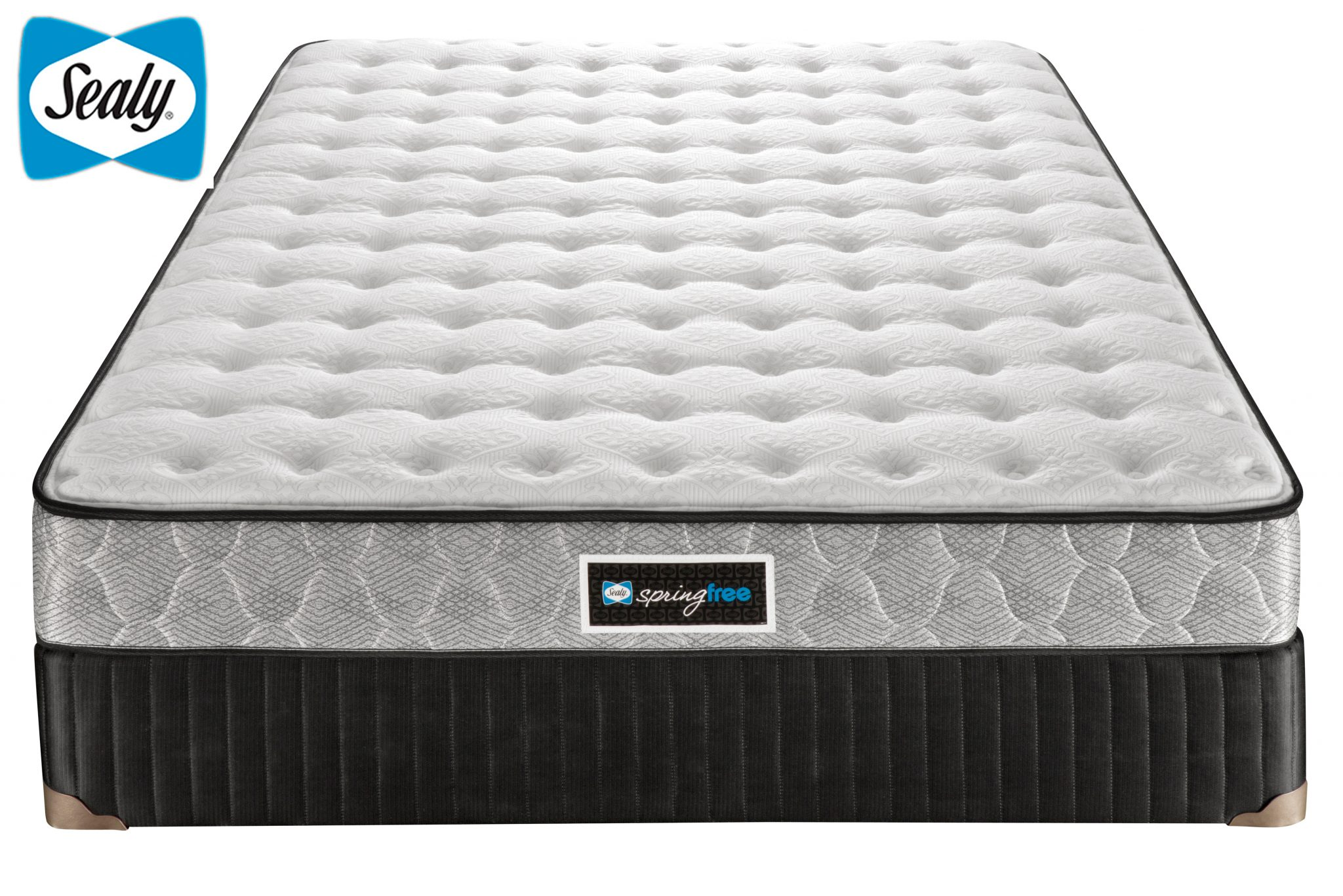 Cortot Tight Top Firm Sealy Spring Free Sleep Guide Mattress