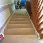 Stair carpet in Daventry