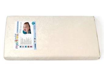 image of my first crib mattress