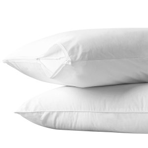 Allerease pillow protector/ encasing to prevent allergic snoring