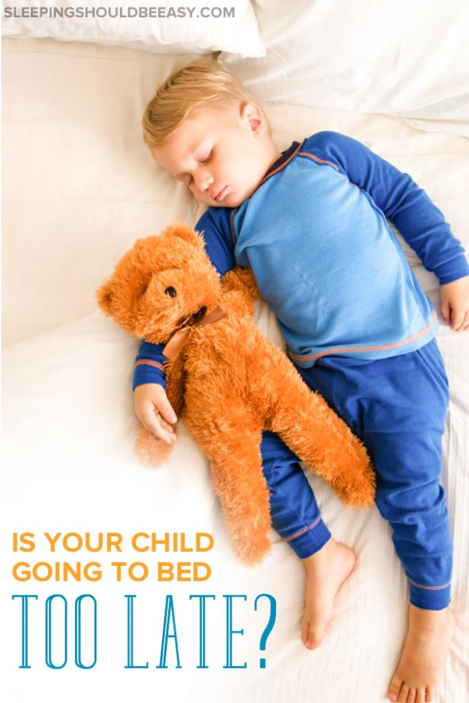 toddler going to bed too late