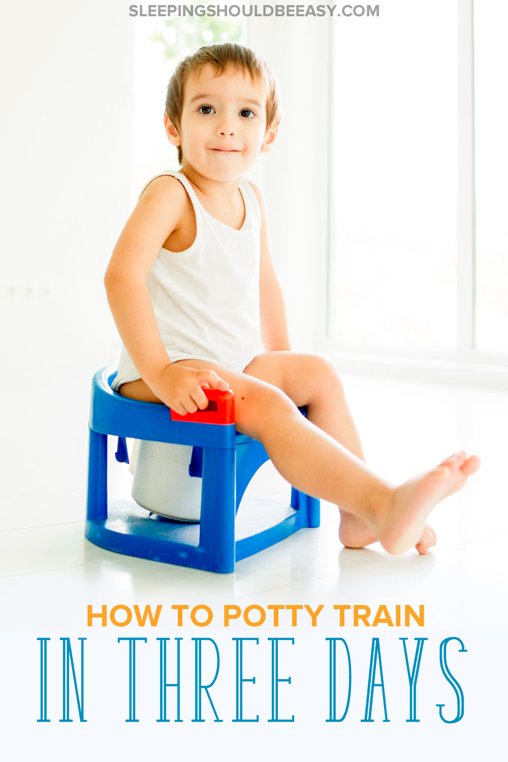 Tired of diapers, rewards that don't work and drawn-out potty training that take forever? Learn about potty training in three days with these instructions!