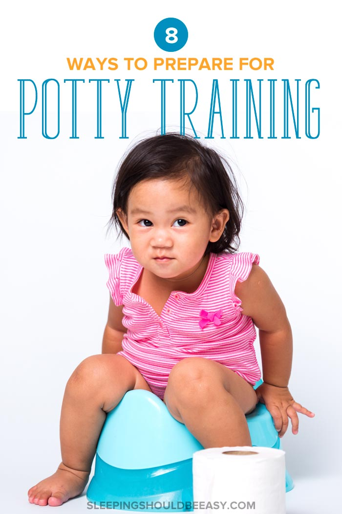 preparing for potty training