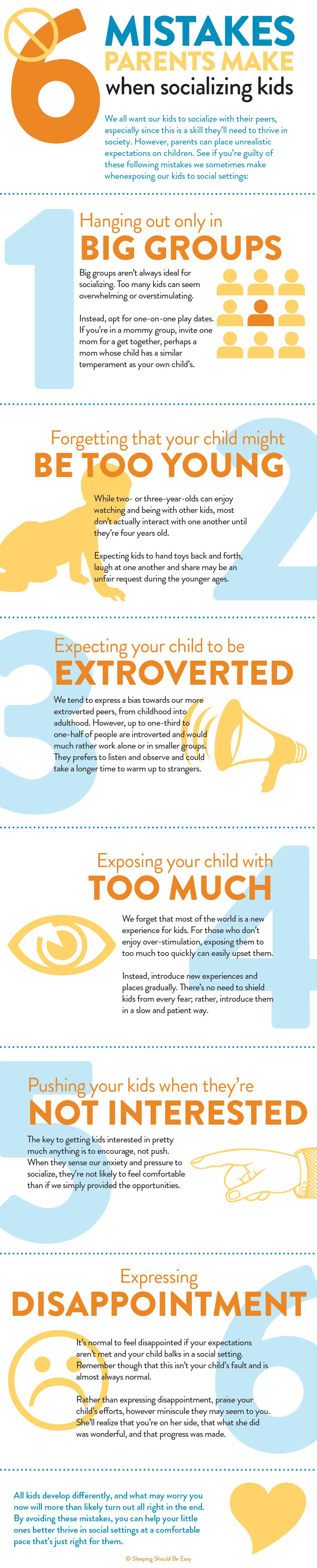 6 Mistakes Parents Make When Socializing Your Child