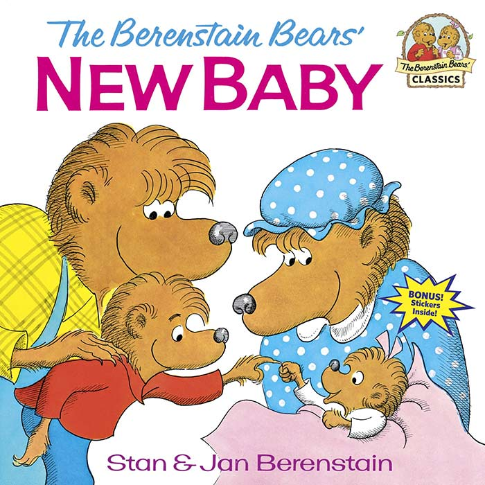 The Berenstain Bears' New Baby by Stan and Jan Berenstain