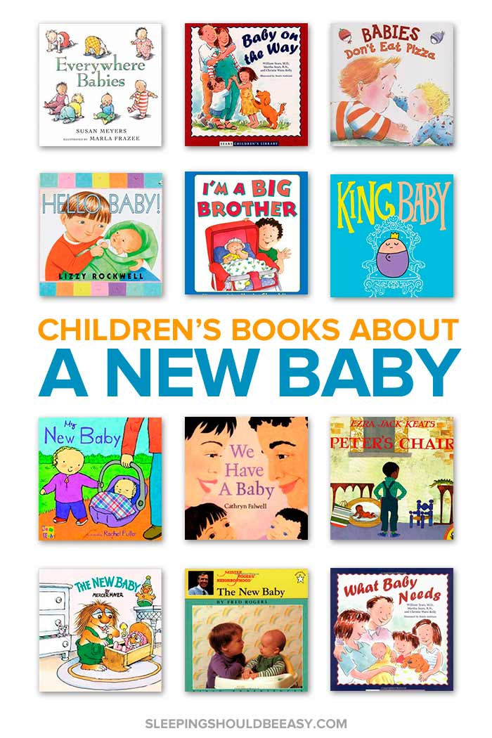 Children's books about a new baby