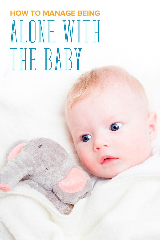 Taking care of a newborn alone