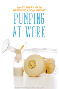 What every mom needs to know about pumping at work: Breast pump with milk bottle and storage bag