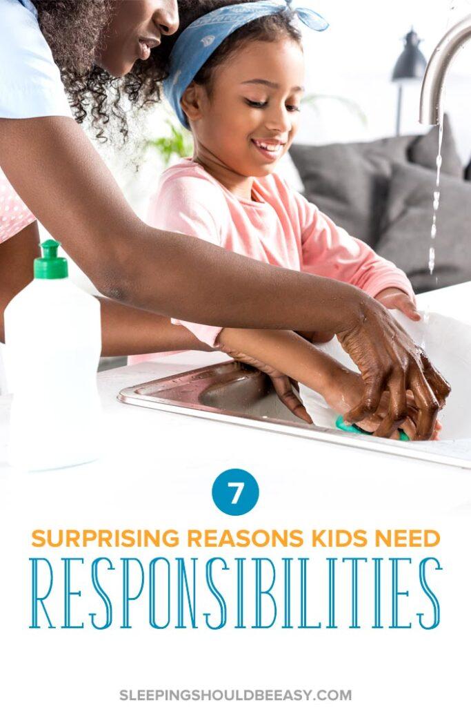 Reasons Kids Need Responsibilities