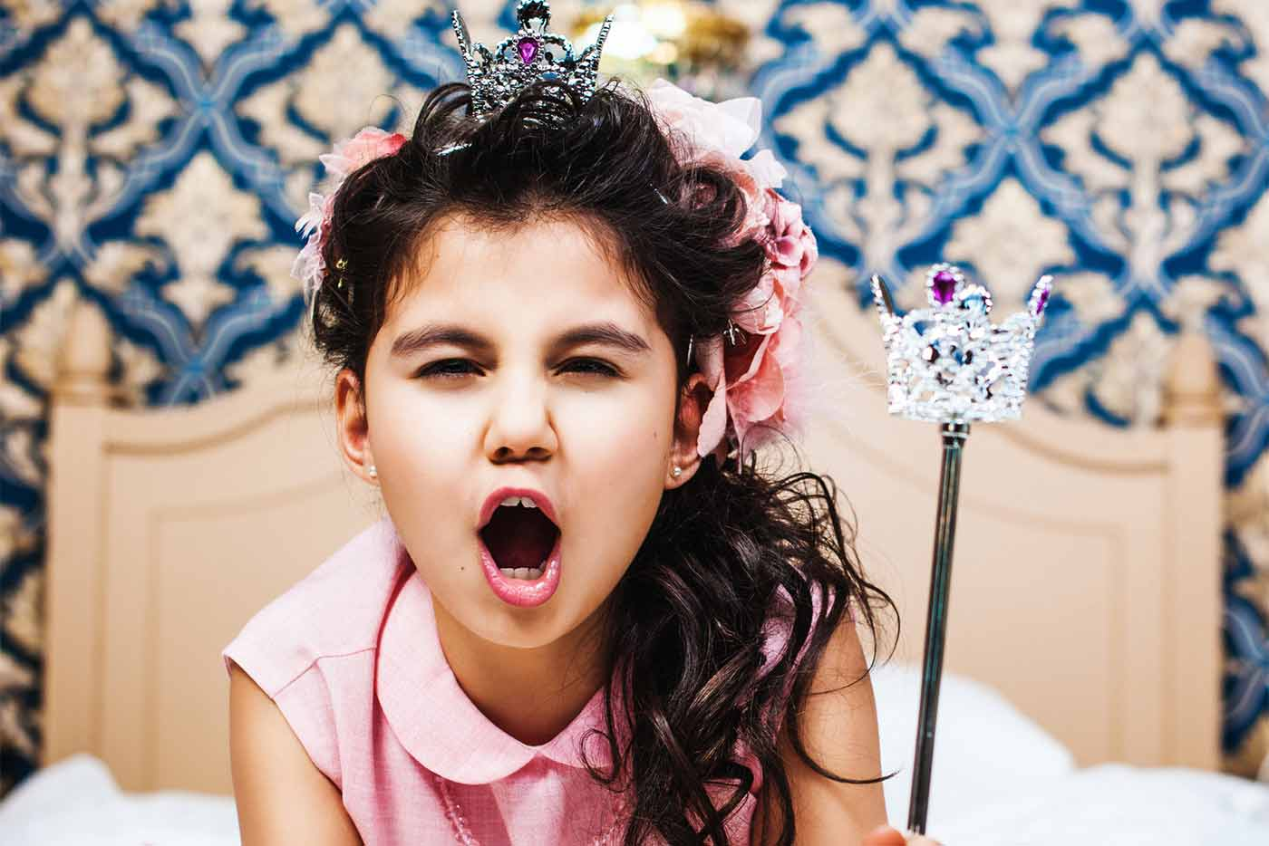 Warning signs of a spoiled child