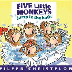 Five Little Monkeys Jump in the Bath by Eileen Christelow