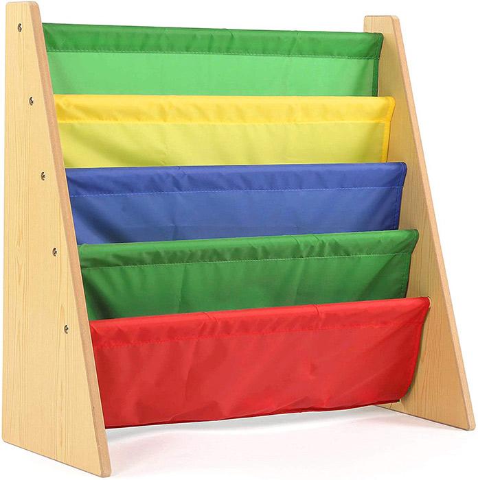 Tot Tutors Kids Book Rack Storage Bookshelf