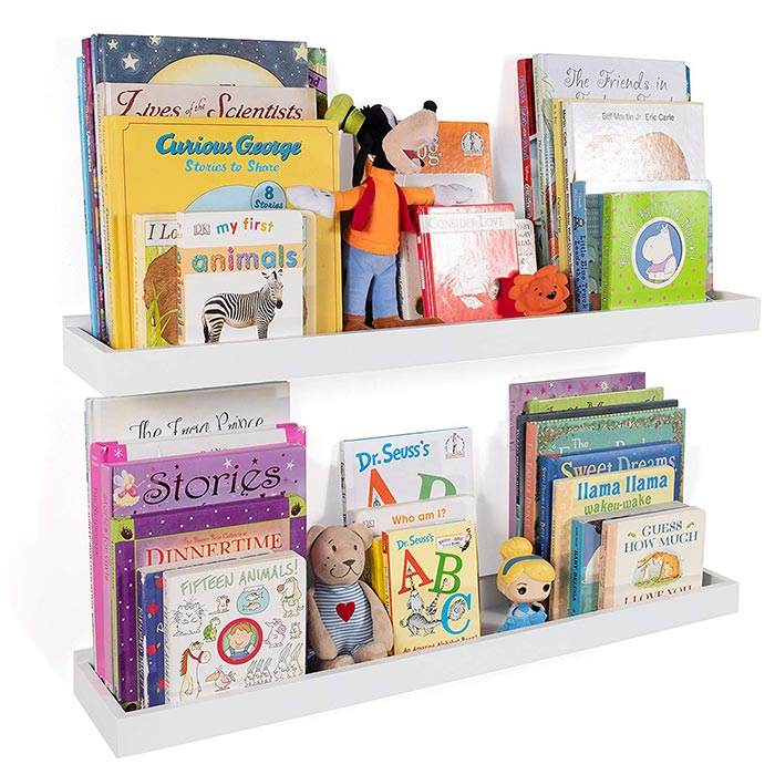 Wallniture Philly Nursery Bookshelf