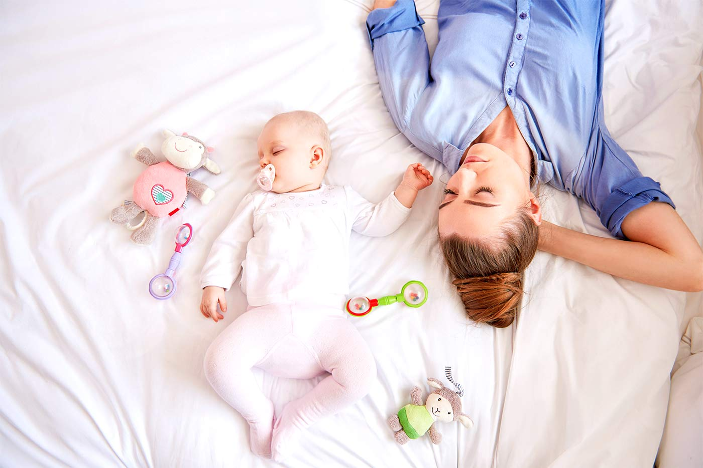 How to help your baby sleep through the night
