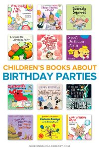 Children's books about birthday parties