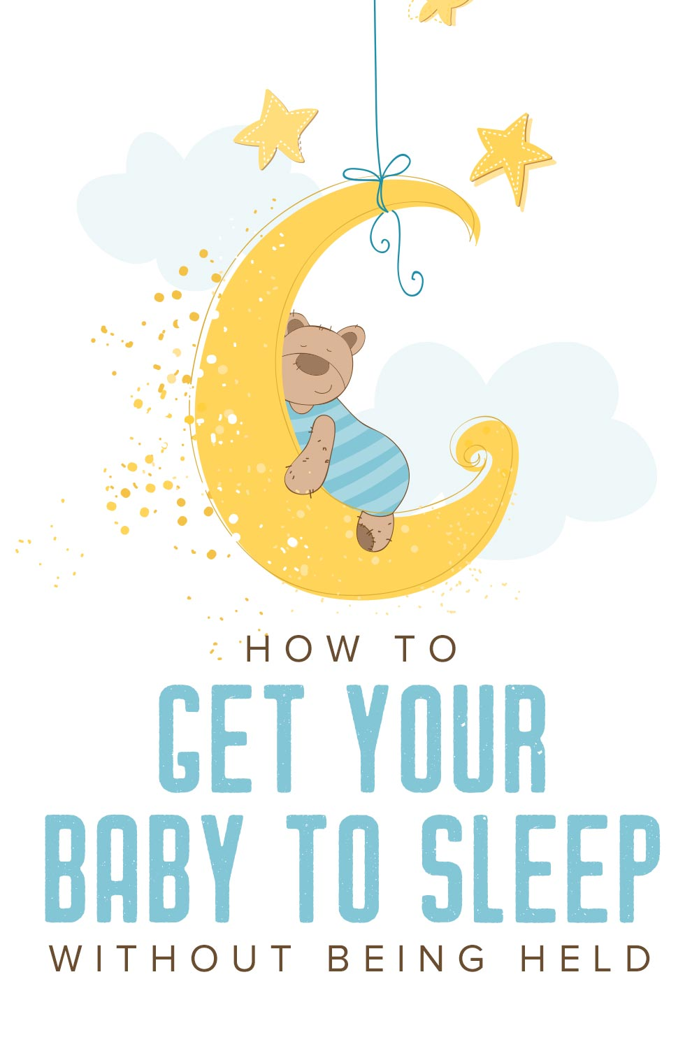 What to do when your newborn only sleeps when held
