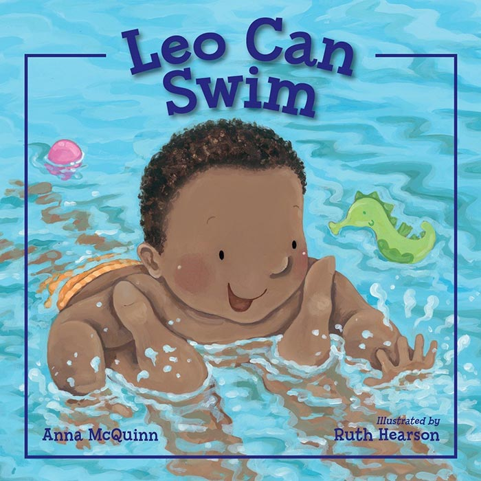 Leo Can Swim by Anna McQuinn