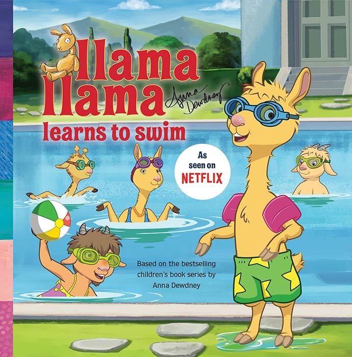 Llama Llama Learns to Swim by Anna Dewdney