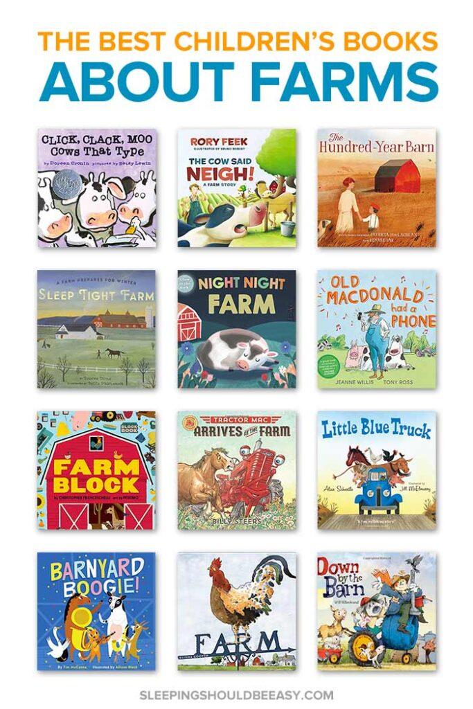 Children's Books about Farms