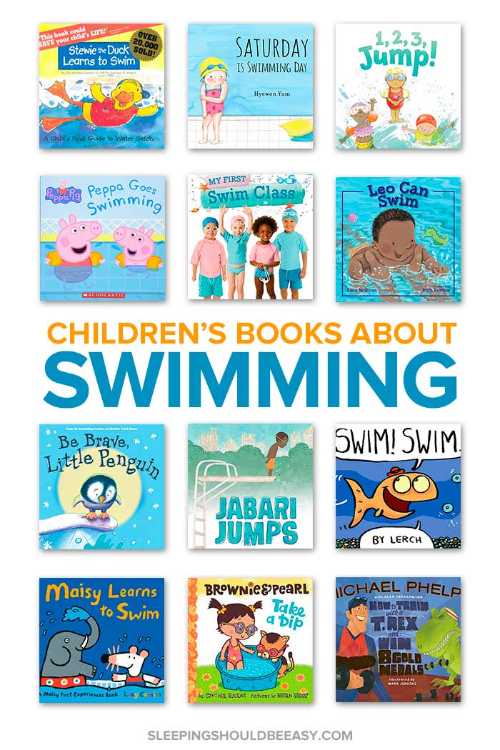 children's books about swimming