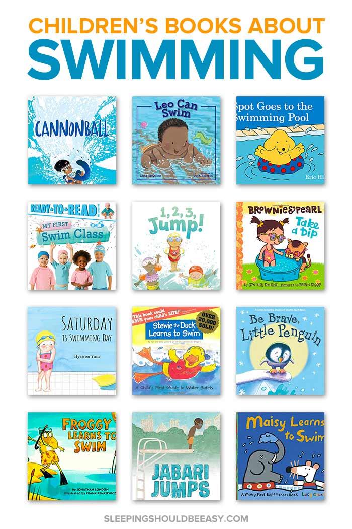 Children's Books about Swimming