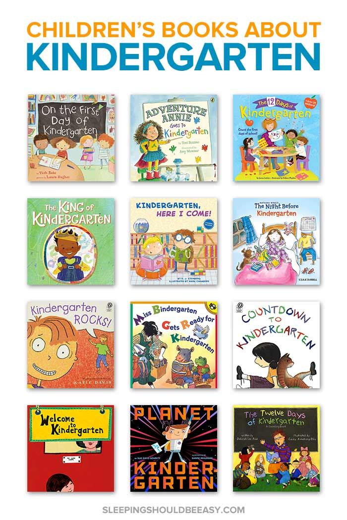 Children's Books about Kindergarten